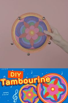 Summer Crafts For Kids, Summer Activities For Kids, Summer Diy, Diy For Kids, Preschool Art Activities, Toddler Activities, Diy Toys And Games, Drum Craft, Music Crafts