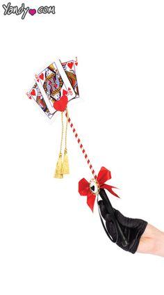 Queen of Hearts Card Baton
