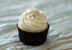Vanilla Bean Cupcakes with Vanilla Bean Buttercream | The Pinterest Project