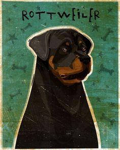 Rottweiler Print