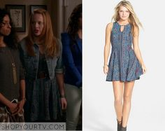Switched at Birth: Season 4 Episode 5 Daphne's Aztec Print Dress