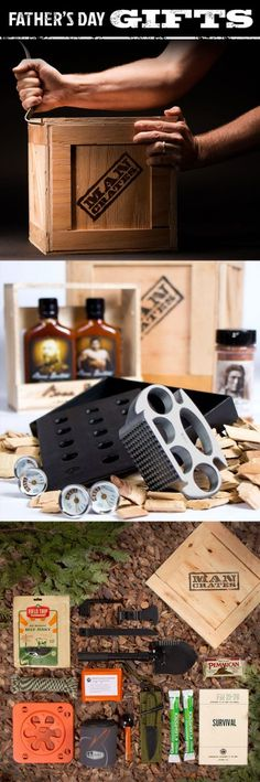 Let your dad pry open his unforgettable gift with a crowbar! | #CarGuys #ManCrates