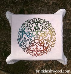 Elemental Celtic Pentacle Tarot or Altar Cloth   by BrightArrow, $25.00