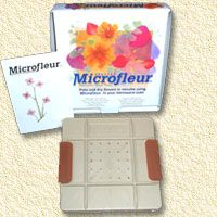 Microfleur microwave flower press -products