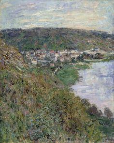 Claude Monet: Vétheuil, 81x65 cm, 1880.