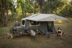 """""""Great campsites are found, not made, but what constitutes the perfect spot? """""""