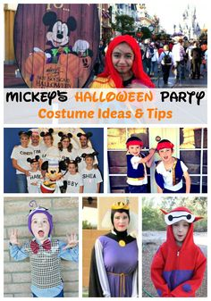 Mickey's Halloween Party Costume Ideas and Tips - Traveling Mom