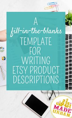 Product descriptions not only help sell your products once you have shoppers on the listing page, they can also help attract shoppers through SEO. Here's a template to help you quickly and easily write effective product descriptions for your Etsy shop Craft Online, Selling Crafts Online, Selling Art, Craft Business, Business Tips, Creative Business, Selling Handmade Items, Handmade Shop, Starting An Etsy Business