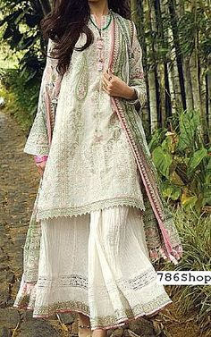 Ivory Jacquard Suit | Buy Afsaneh Pakistani Dresses and Clothing online in USA, UK