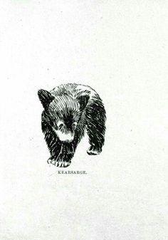Bear i want tattooed ❤