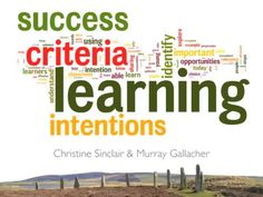 Learning Intentions and Success Criteria on Vimeo