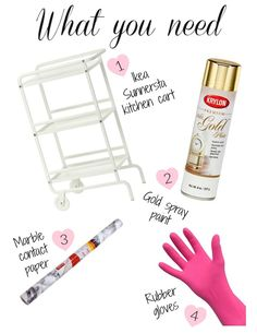 I saw this DIY floating around Pinterest for about two years now. It started with people using the BYGEL cart from Ikea. It had three white shelves, a tiny drawer under the first shelf and a few hooks.…