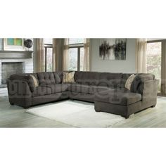 Delta City Steel Right Chaise Sectional Lilly Marion Sofas For Family Room