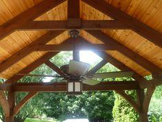 Roofed Pergola