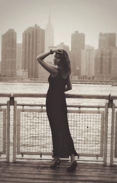 MODEL: Ana Eva Arapova PHOTOGRAPHER & RETOUCHING: Sergio Larranaga @sergionyc  HAIR&MAKEUP: Olivia CLOTHES: dress Jump Apparel, shoes Moschino