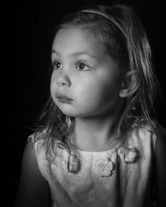 My baby girl modeling for me while I was testing lighting setups.  This one's a keeper.  #photography #portrait