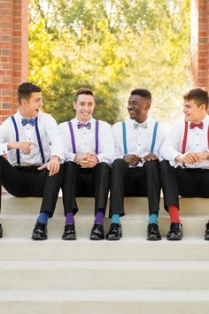 Socks, Bow and Suspenders! Tuxedos To You! Tuxedo Rental, Tuxedos, Suspenders, Bow, Socks, Clothes, Arch, Outfits, Longbow