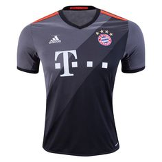 Bayern Munich 16/17 Away Soccer Jersey  ☆ 2016/17 UEFA Champions League ☆  The Jerseys, Apparel & Gear available now at WorldSoccerShop.com