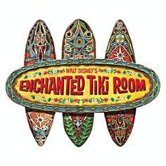 Walt Disney Enchanted Tiki Room Wood Wall Plaque Sign 50TH ANNIVERSARY picclick.com