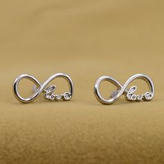 0bc82b11e128c Infinity Earrings Silver Infinity Ring