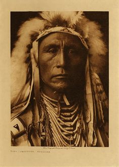 Portrait Photography Artist Study with thanks to Photographer Edward Curtis, ,Resources for Art Students, CAPI ::: Create Art Portfolio Ideas at milliande.com , Inspiration for Art School Portfolio Work, Portrait, Painting, Figure, Faces, Mixed Media, Sepia, North American Indian