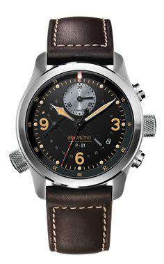 Bremont P51 Limited Edition. The most awsome watch I have ever seen... Go see one to believe it!