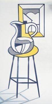 Lichtenstein's Picture and Pitcher, Albright-Knox Art Gallery Buffalo