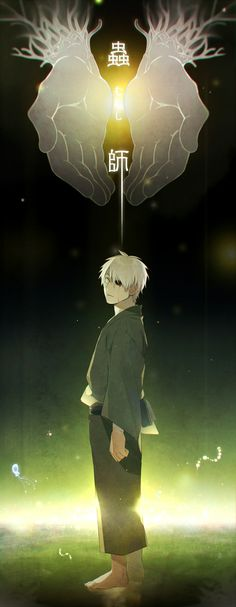 Mushishi é um anime místico, conheci em meados de 2008 pelo Animax, vale a pena conferir!
