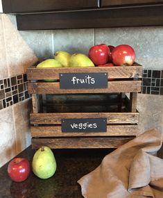 fruit veggie produce crates stack