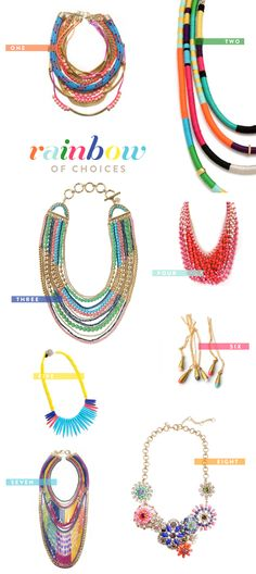 RainbowNecklaces