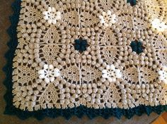Ravelry: Project Gallery for Vintage Popcorn Square free pattern by Sue Perez