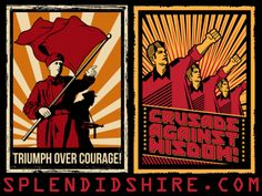 Triumph Over Courage and Crusade Against Wisdom!