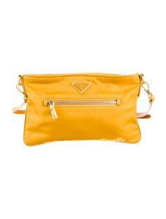 Prada Saffiano Tessuto Shoulder Bag