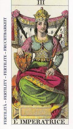 My Tarot » La emperatriz