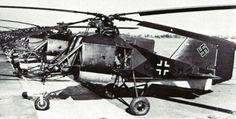"""Deutscher """"Hubschrauber""""  Flettner Fl 282 Kolibri"""