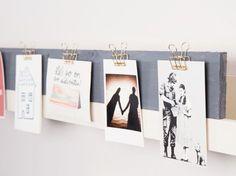 DIY-Geschenkidee: Fotoleiste für den Freund zu Weihnachten selber bauen, Deko für Dein Zuhause / DIY-gift idea:  craft a photo bar for your boy friend for christmas, home accessory via DaWanda.com