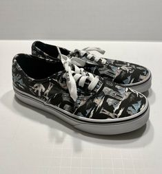 3142672f63 Extra Off Coupon So Cheap Vans Authentic Star Wars Darkside Planet Hoth  Shoes Youth Sz 3 Black