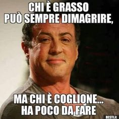 Chi è grasso | BESTI.it - immagini divertenti, foto, barzellette, video Italian Humor, Italian Quotes, Gym Boy, Gym Girls, Big Muscles, Training Day, Just Smile, Transformation Body, Slogan