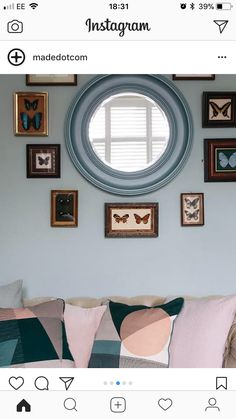Gallery Wall, Mirror, Room, Furniture, Home Decor, Bedroom, Decoration Home, Room Decor, Mirrors