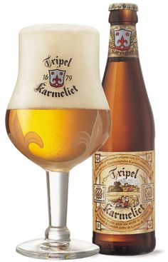 Just returned from Belgium. This was one of my two favorite beers: Tripel Karmeliet.