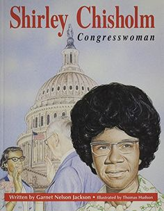 SHIRLEY CHISHOLM,, BEGINNING BIOGRAPHIES by MODERN CURRICULUM PRESS African American Studies, Black African American, African American History, Shirley Chisholm, Glass Ceiling, Biographies, Democratic Party, Folding Chair, Children's Books