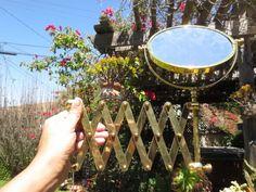 CZECH SPEAKE Mirror Edwardian Extendible by ChickieVintageLove