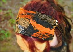 Sacred Geometry Headband Dreadband Dread by IntergalacticApparel