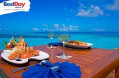Almuerzo en Bora Bora