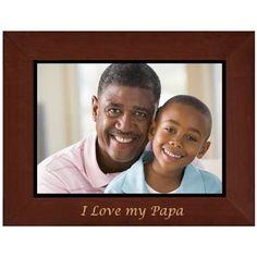 Papa Frame Engraved