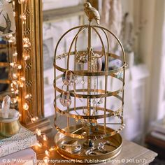 HARRY POTTER™ HEDWIG™ Jewelry Cage #pbteen