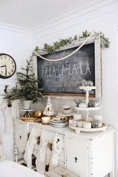 Simple Cottage Christmas Decor - Video Tour - Liz Marie Blog