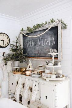 Simple Cottage Christmas Decor - Video Tour - Liz Marie Blog