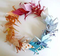 Franciens haakwerk: origami