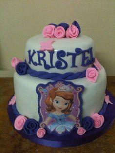 torta de princesa sofia